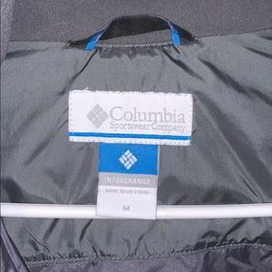 Columbia Jackets & Coats - Columbia Fully lined Interchage 3 in 1 Jacket